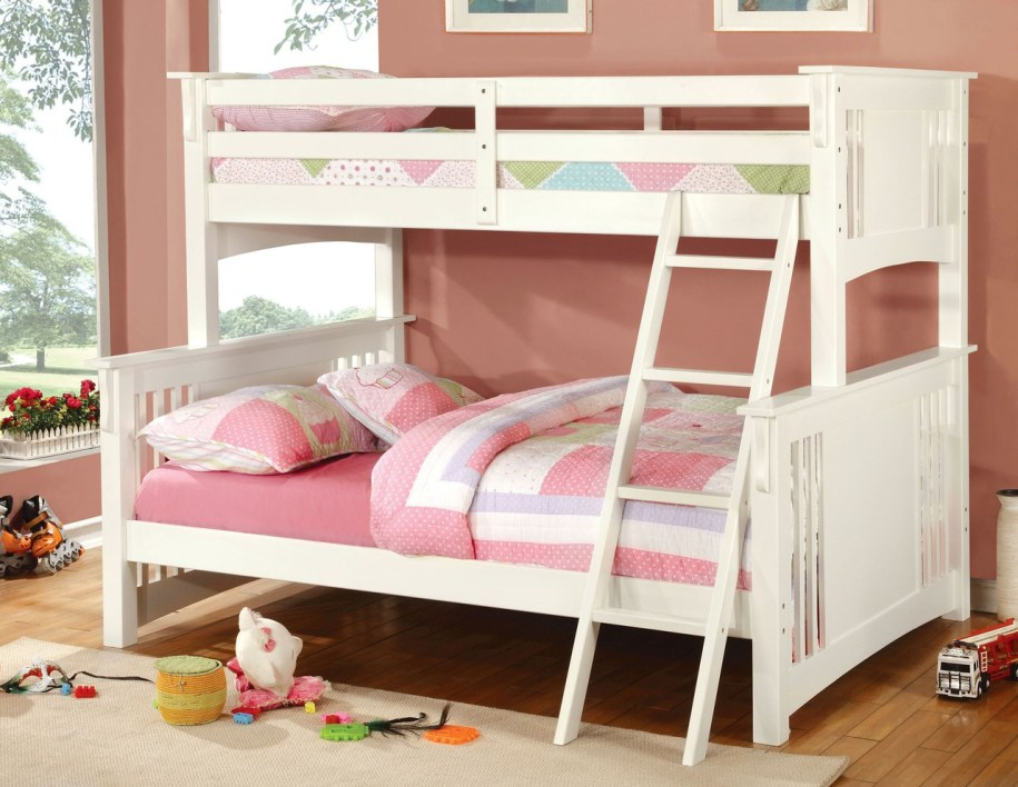 Spring Creek Wood Twin Over Full Bunk Bed