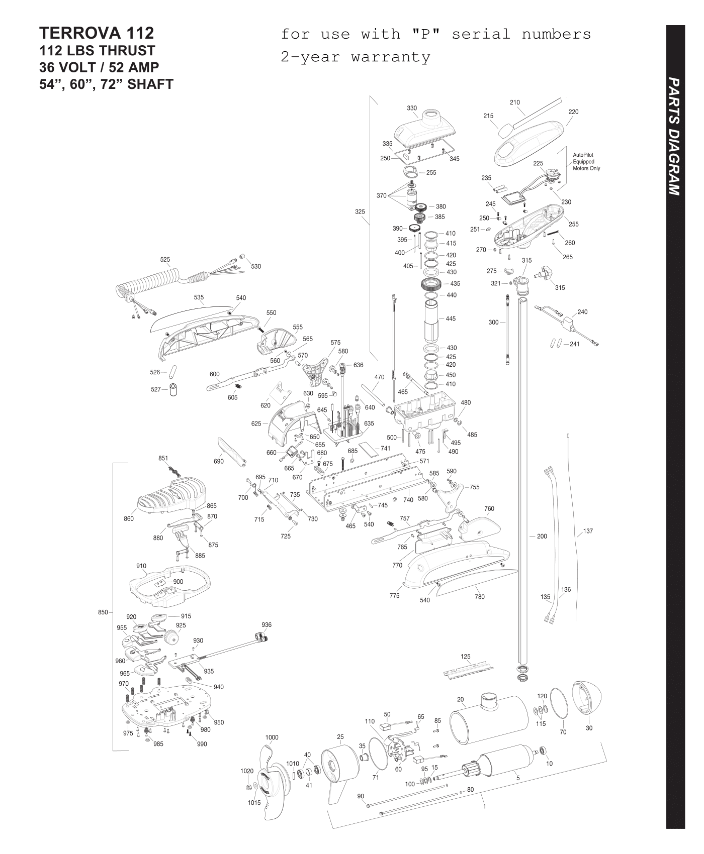 Battery Wiring Diagram For 24 Volt Trolling Motor