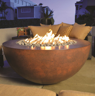 Legacy Round Fire Pit Sphere Shape
