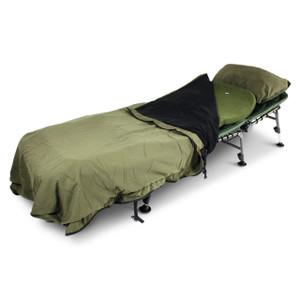 Abode Contoured Memory Foam Bedchair Mattress Topper Carp