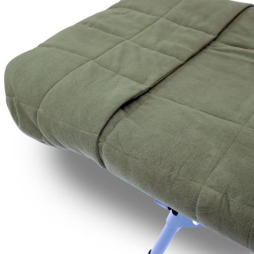 Abode Hollow Fill Quilted Fleece Bedchair Mattress Topper