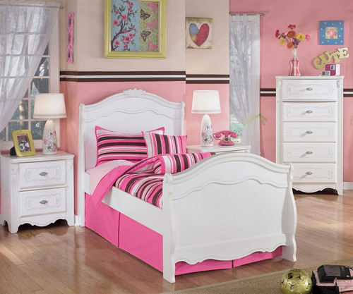 Ashley Furniture Exquisite Twin Sleigh Bed Kids