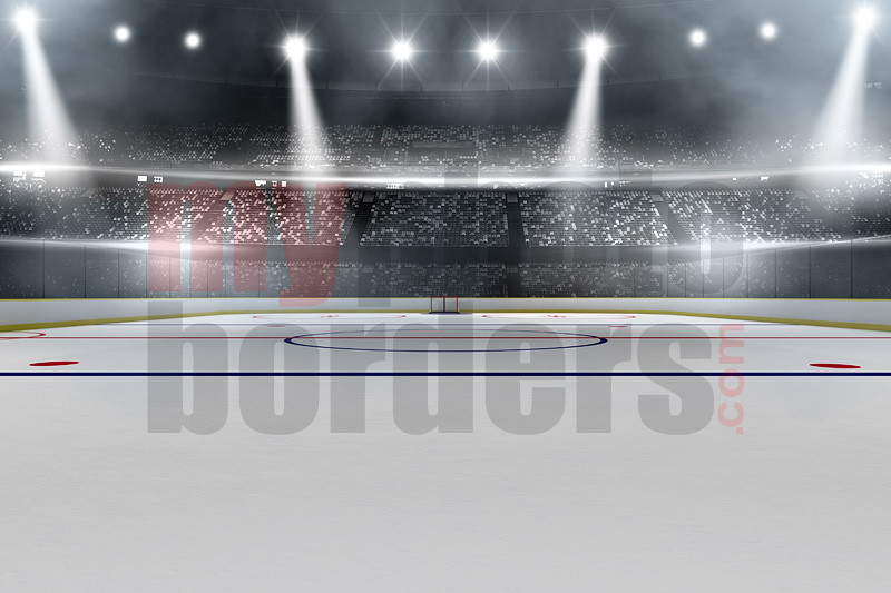 Digital Sports Background Hockey Stadium