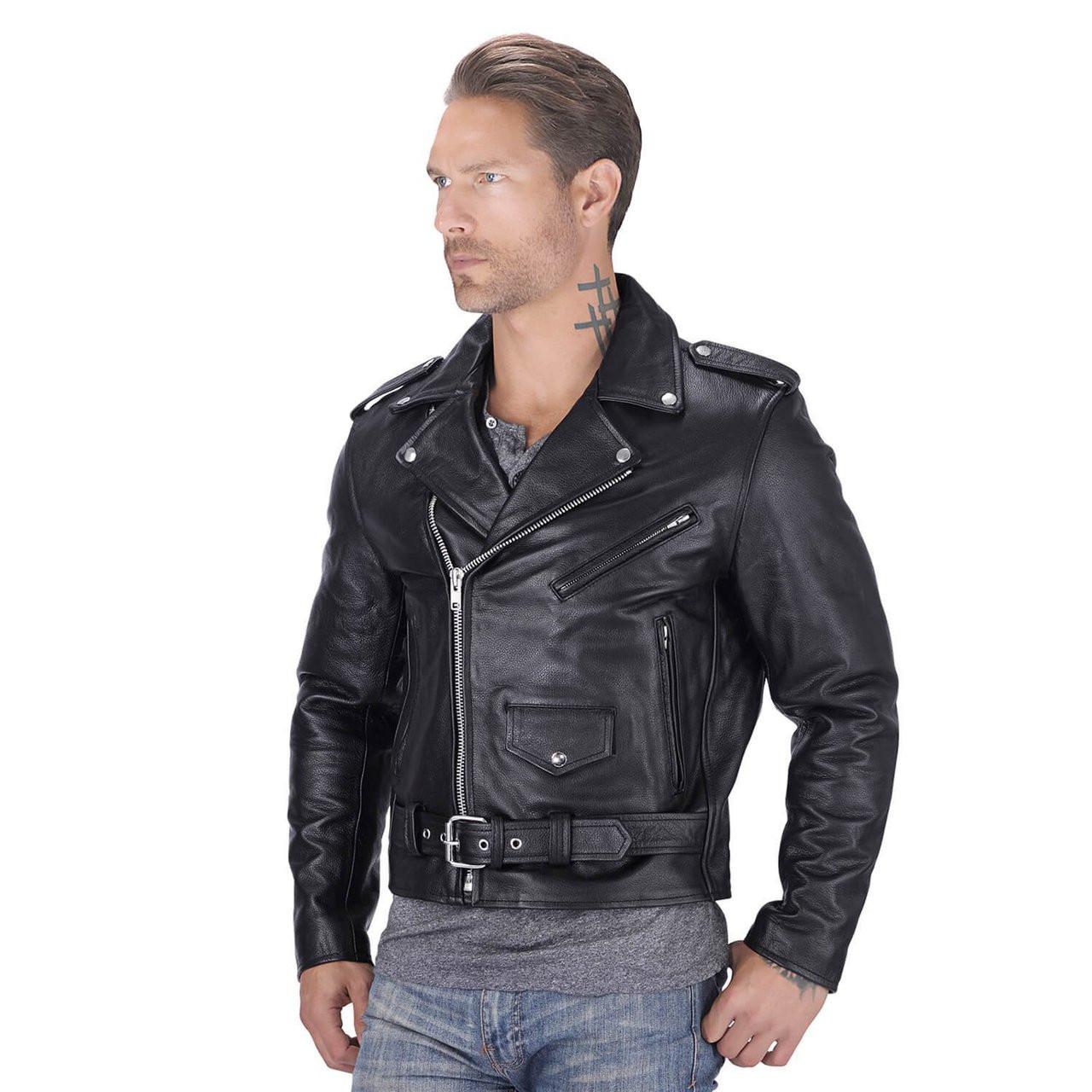 Motorcycle Biker Jacket
