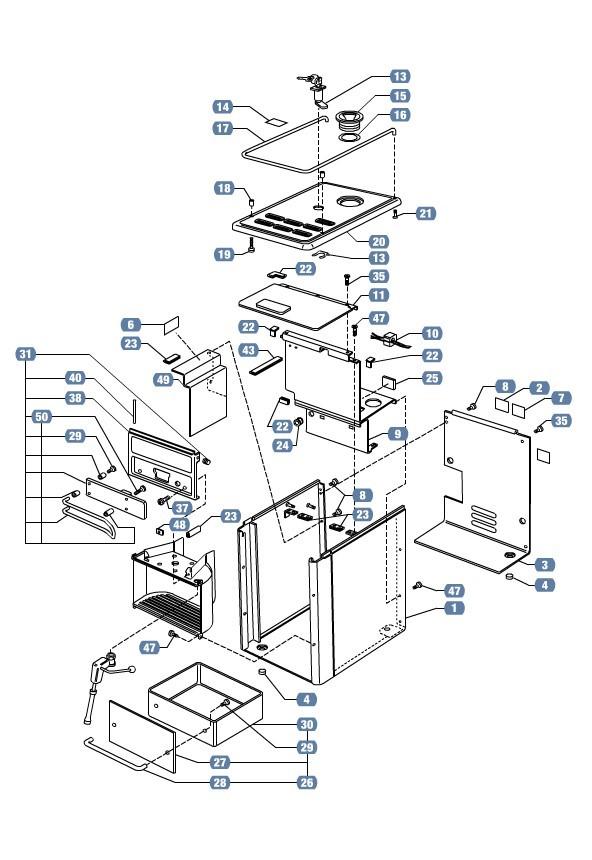 Lavazza Espresso Point Parts