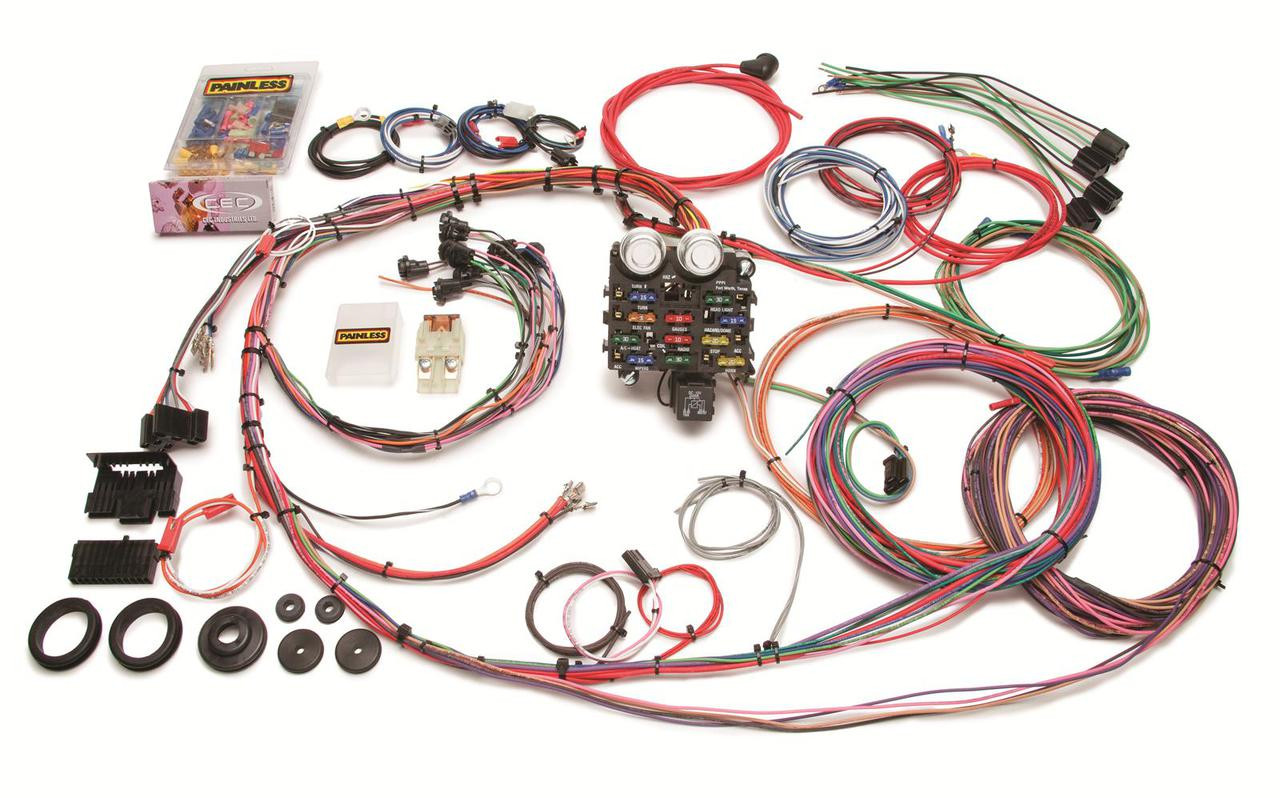 Painless Wiring Harness  19631966 Chevy Truck | 19 Circuit  LSx Everything