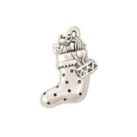Stocking Pin Dallas Pridgen Jewelry