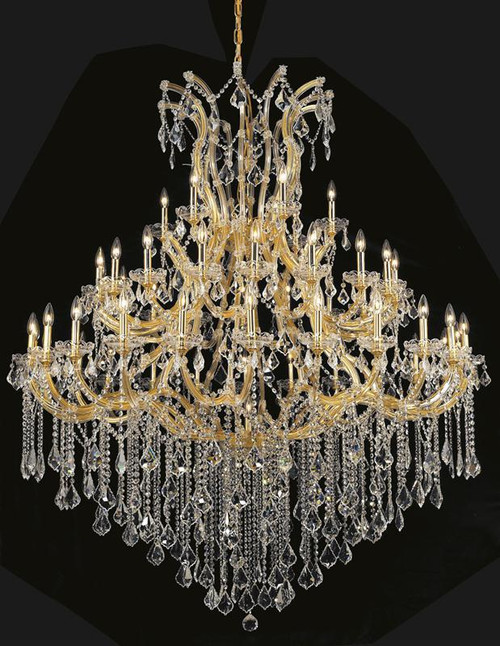 49 Light Maria Theresa Crystal Chandeliers Kl 41039 6072 G