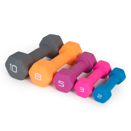 Cap Neoprene Coated Hex Dumbbell Sdn5