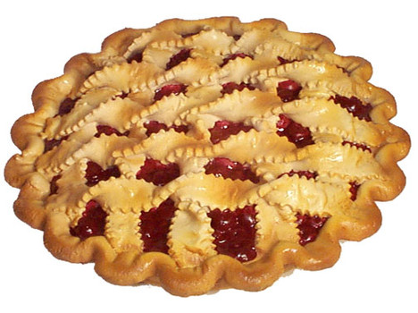 Cherry Pie Recipe by Family Jewels and Silver