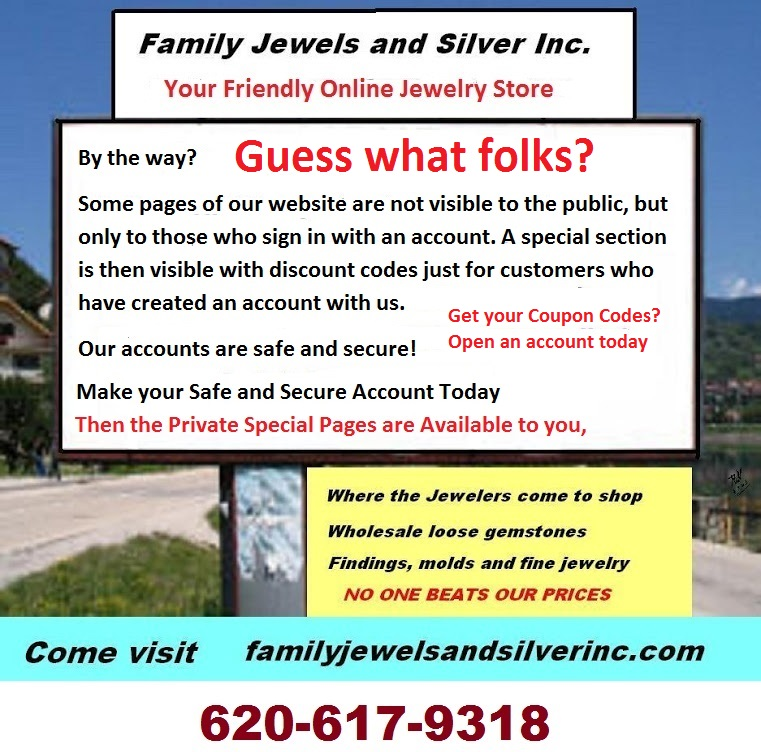Jewelers Ring Mountings by Family Jewels and Silver
