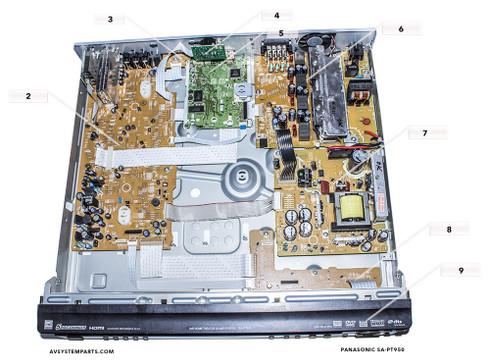 Panasonic SAPT650,SAPT750,SAPT950 Parts: RJBX3450A