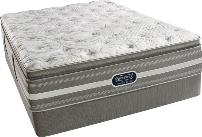 Simmons Beautyrest Recharge World Class C Luxury Firm Pillow Top Mattress