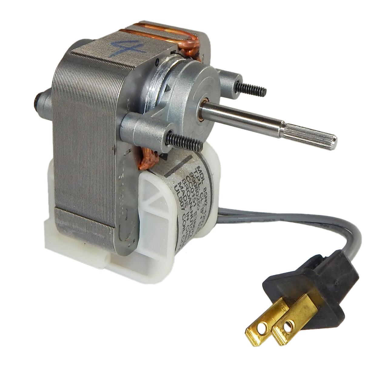 broan 671 replacement bath fan motor # 99080255, 1.5 amps, 1500