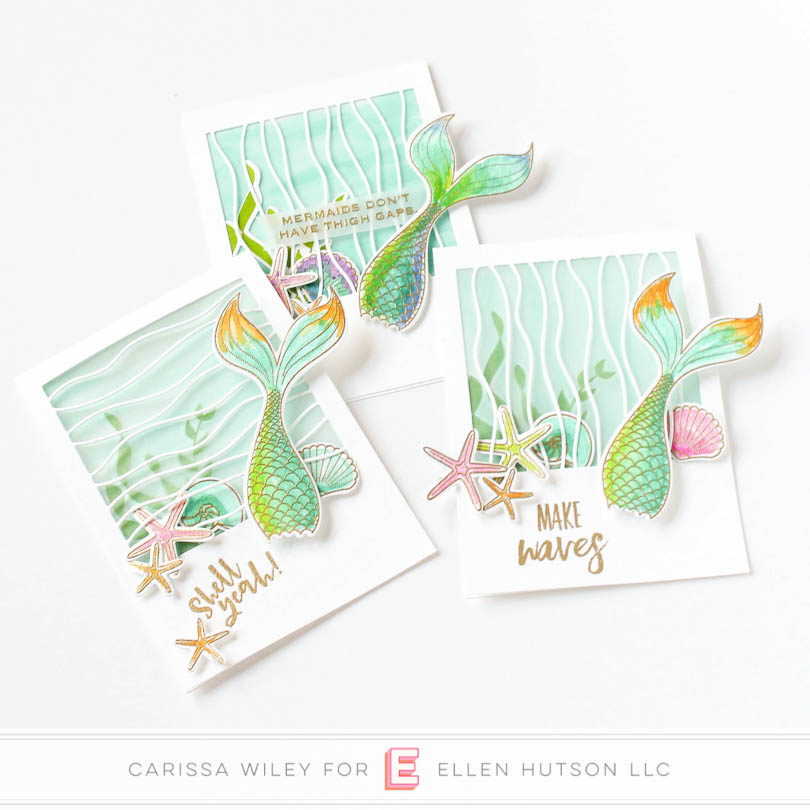 Inner Mermaid Cards by Carissa
