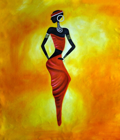 Buy Tribal Lady By Community Artists Group Rs 3090 Code