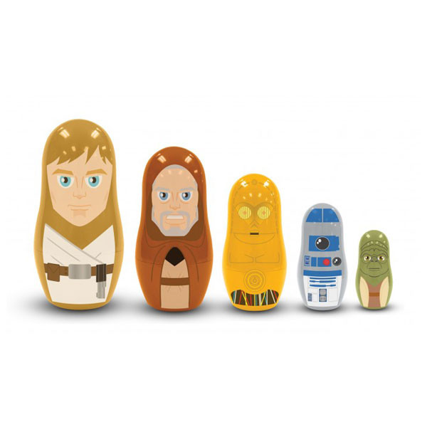 Star Wars Nesting Dolls - Jedi and Droids | 2Shopper