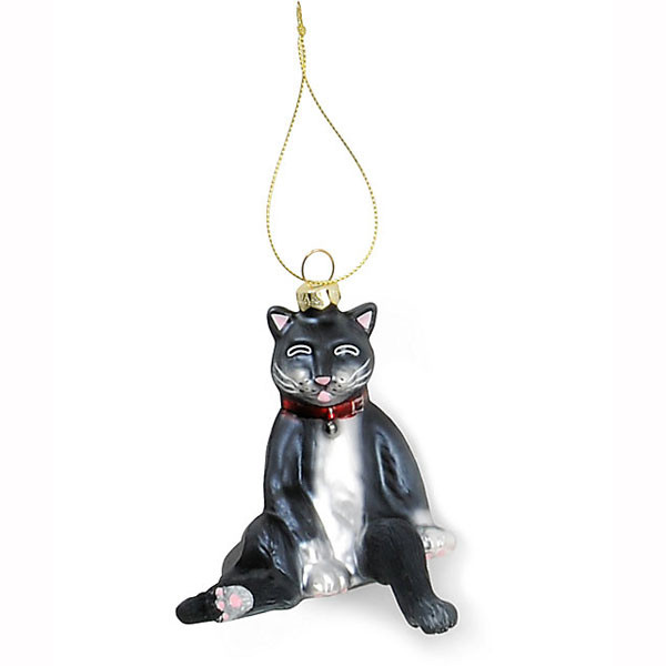 Derpy Cat Ornament | 2Shopper