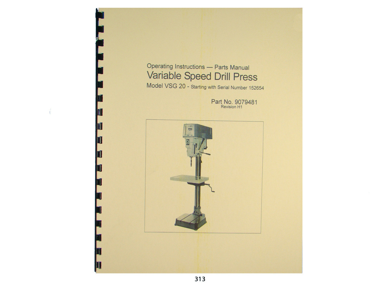 Press Wilton Drill Parts List