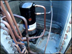 Diagnosing issues in a 3 phase air conditioning pressor