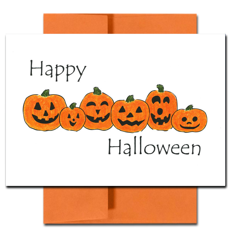 Boxed Halloween Cards For Business Pumpkin Patch