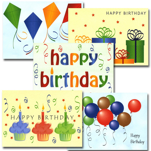Bulk Boxed Business Birthday Note Card Happy Birthday
