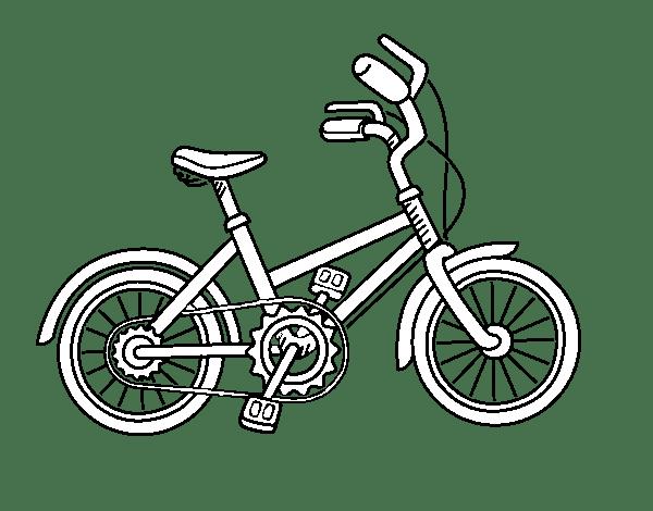 Como Dibujar Una Bicicleta Facil Para Niños Niños Relacionados