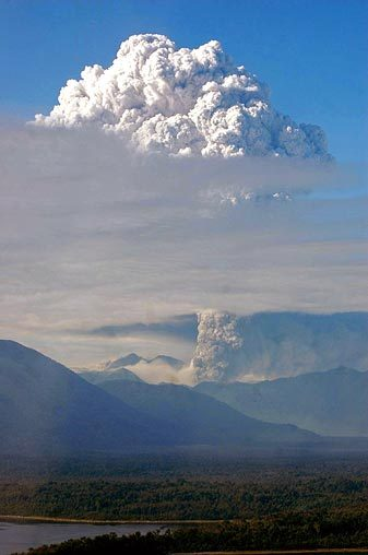 Dormant Volcano Erupts In Chile Kids News Article