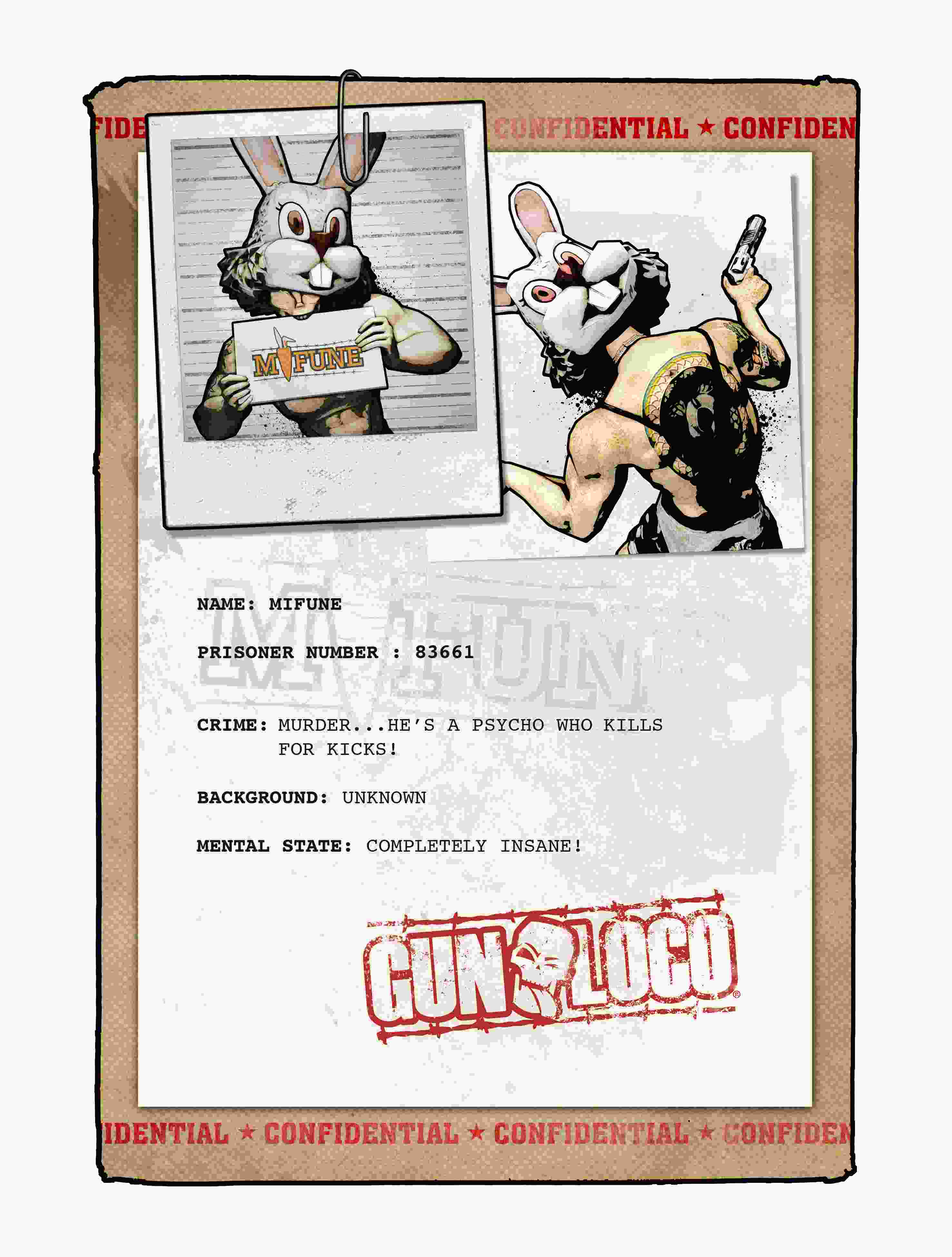 Eh Whats Up Doc Meet Gun Locos Psychopathic Wascally