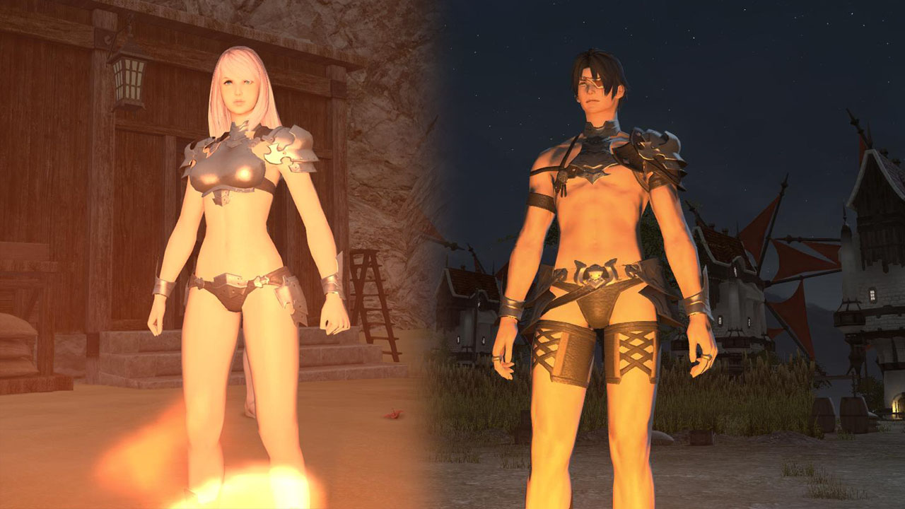 Mevius Final Fantasy Fighting Monsters In Your Armored
