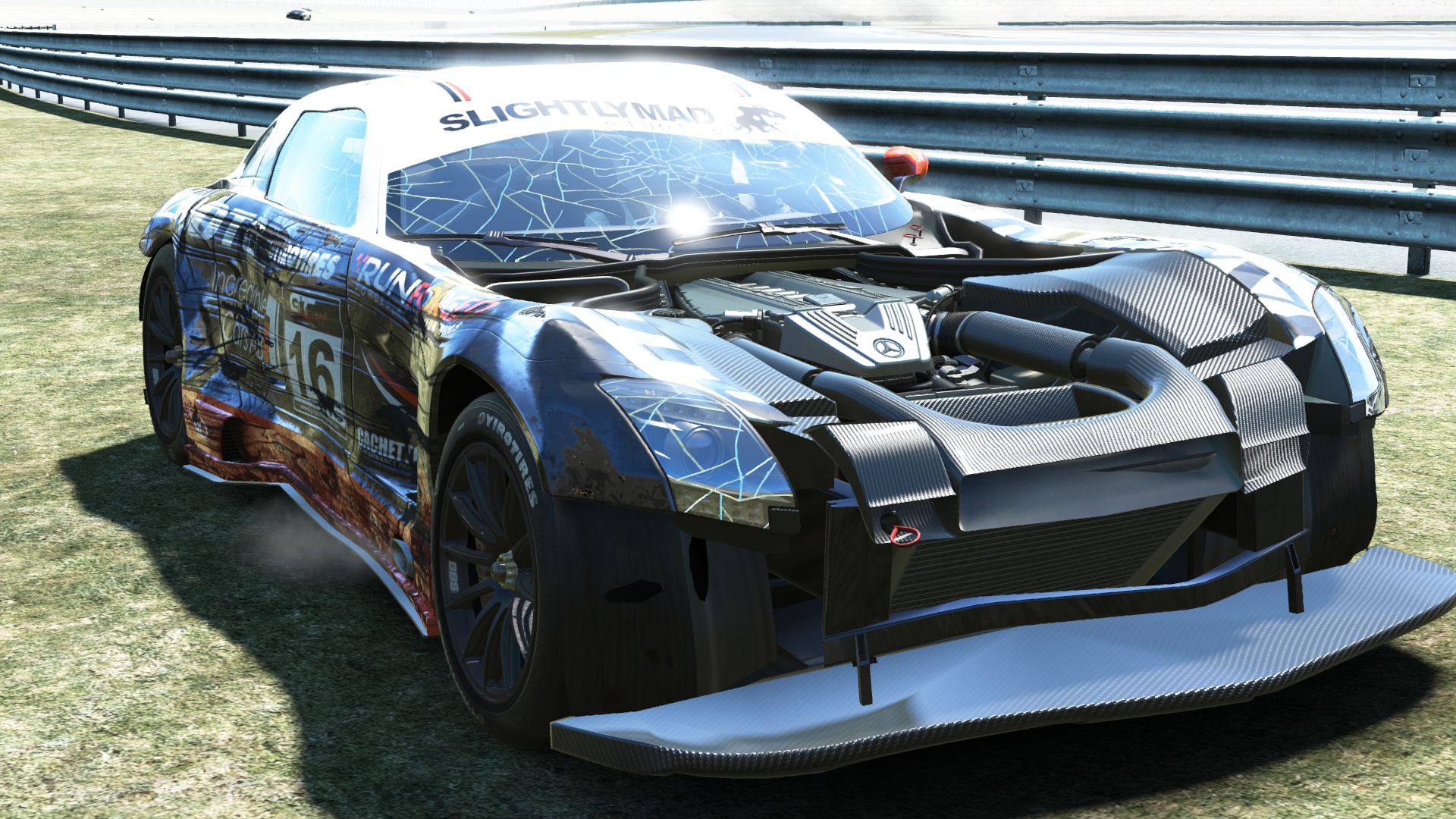 Amazing Project CARS Ultra Screenshots Show Car Carnage
