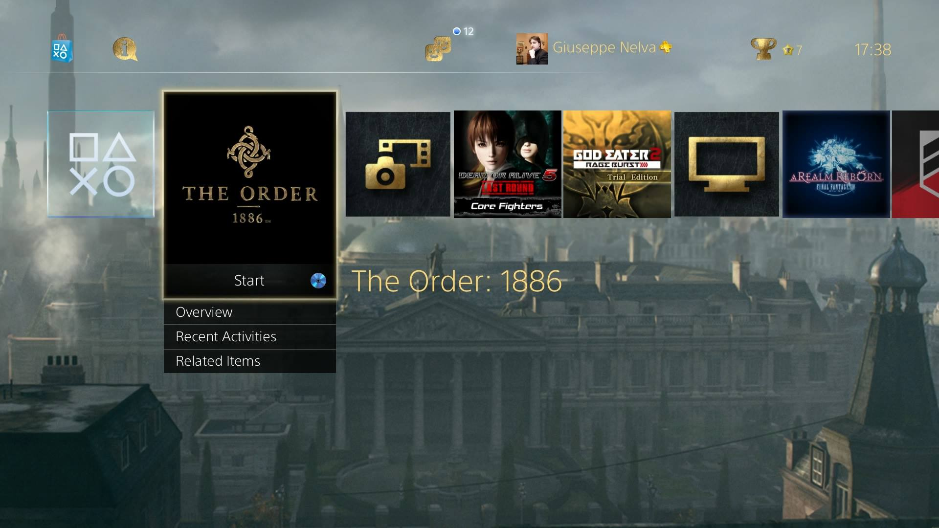 The Order 1886 Free PS4 Dynamic Theme From Promo Website Finally Available Screenshots Inside