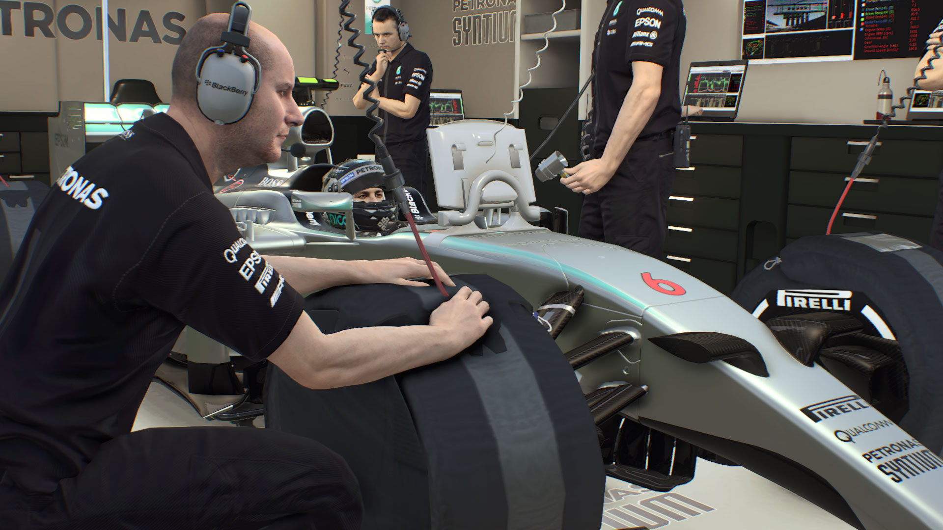 New Screenshots Of F1 2015 Show Of Codemasters New