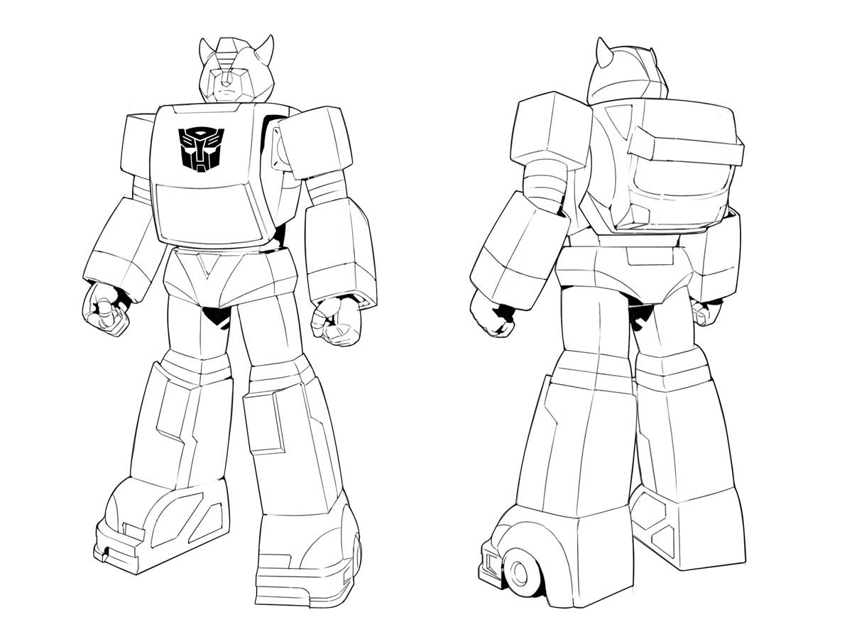 Platinumgames Transformers Devastation Concepts Show