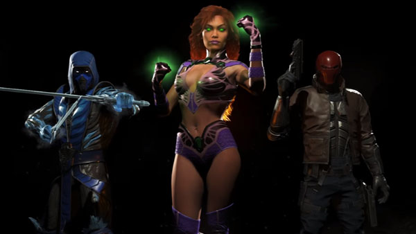 Red Hood Starfire And Sub Zero Revealed As First Three
