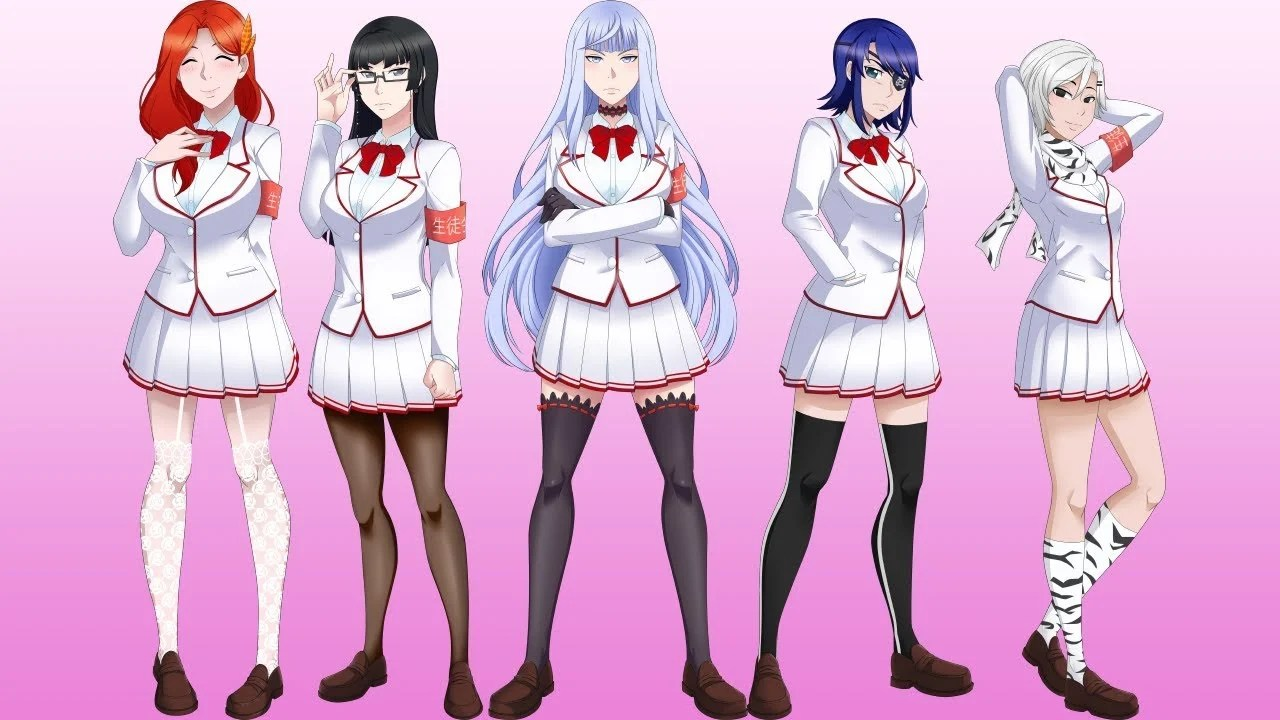 Yandere Simulator Getting Mysterious All Female Student