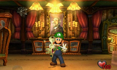 Luigi's Mansion Review (3DS) -- I Ain't Afraid of No Ghosts