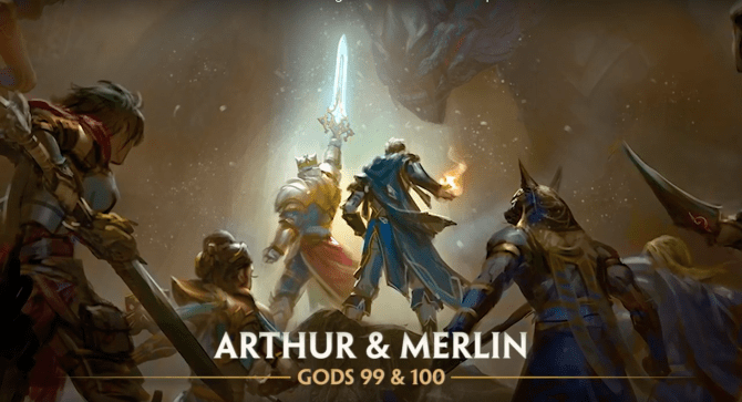 SMITE Hits 100 Playable Characters With King Arthur And