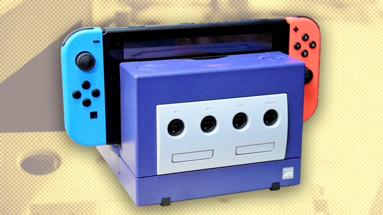 Nintendo Switch Owning Madman Created A Dock Out Of A GameCube