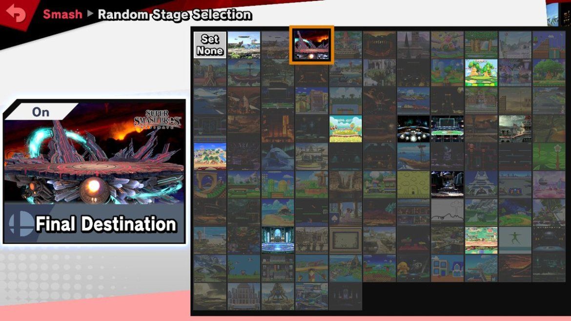 Permitted Stages Super Smash Bros. Ultimate Tournament Guide Nintendo Switch