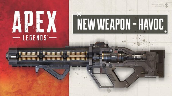 Apex Legends' Newest Weapon is the Havoc Energy Rifle and ...