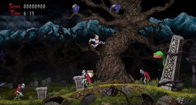 Ghosts N Goblins Resurrection Announced At The Game Awards