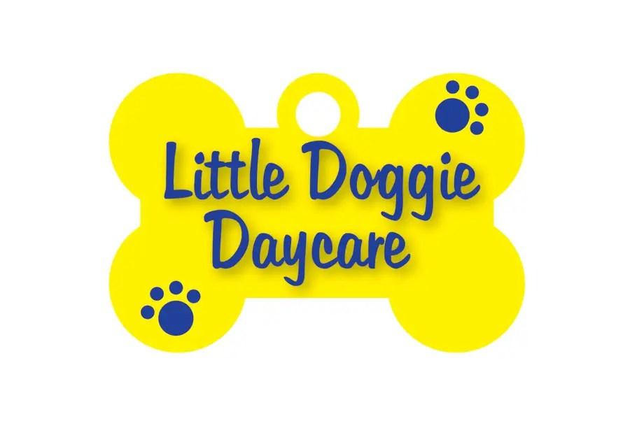 "Graphic Design For ""Little Doggie Daycare"""