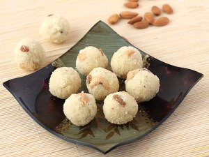 Rava Laddu Recipe - Dry Fruits Rich Rava Ladoo with Coconut - Step by Step