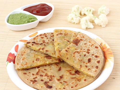 gobhi paratha recipe