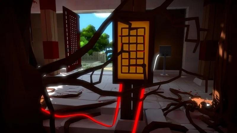 The Witness Walkthrough Part 8 Monastery Tree Temple Laser Beam