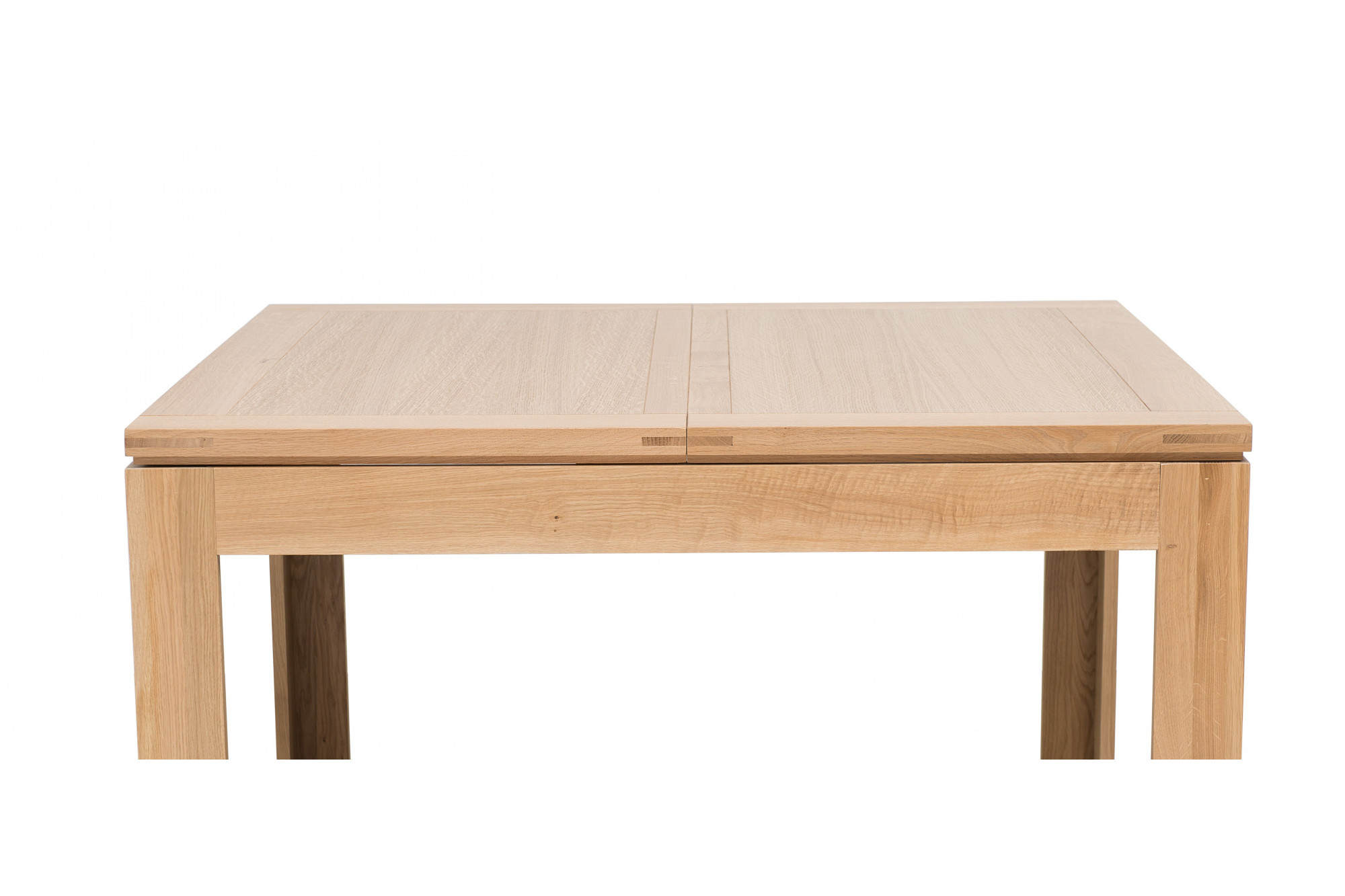 table carree extensible l140 200 boston bois chene clair massif