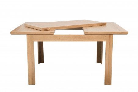 table carree extensible l140 200 boston bois chene clair massif