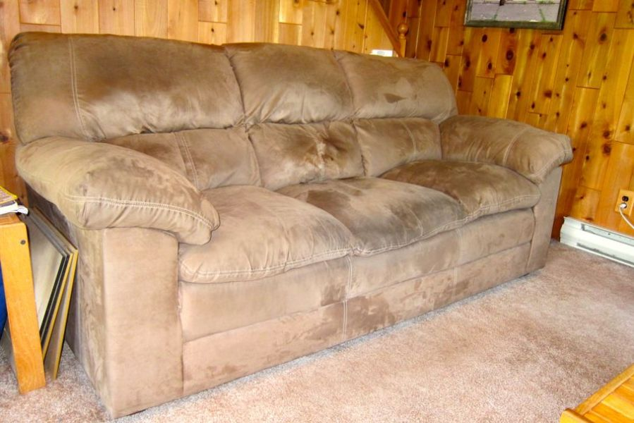 The Best Way to Clean Your Microfiber Furniture   House Tipster     to clean it correctly and not make the stain worse  view