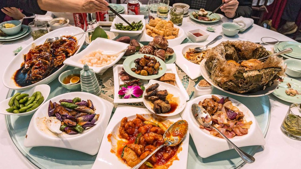 My Austere Chinese Wedding: 20 Types Of Banquets Off The